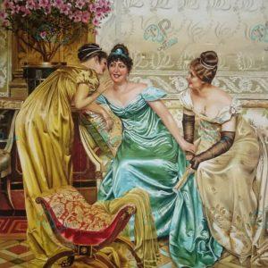 مدل نقاشی کلاسیک رنگ روغن