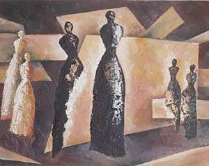 مدل نقاشی کوبیسم مدرن