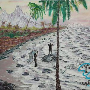آموزش نقاشی منظره با مداد رنگی برای کودکان