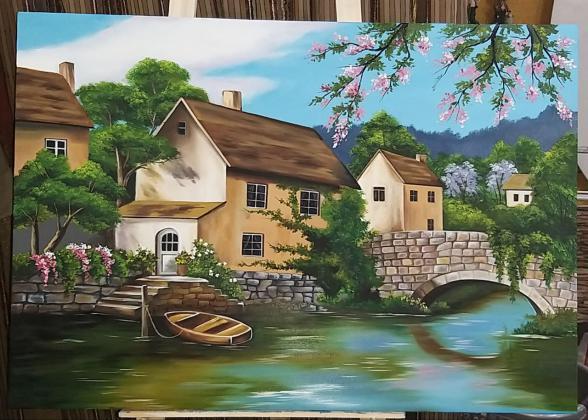 نقاشی های کلاسیک رنگ روغن