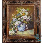 تابلو نقاشی رنگ روغن گل