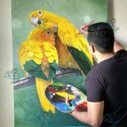 تابلو نقاشی رنگ روغن