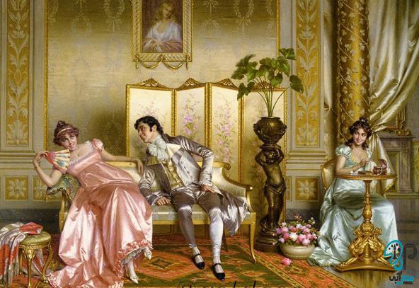 تابلو نقاشی سلطنتی