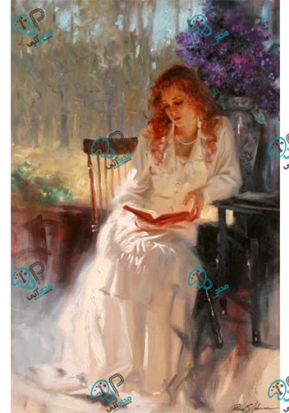 تابلو رنگ روغن زن