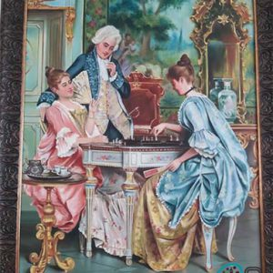 تابلو رنگ روغن سلطنتی