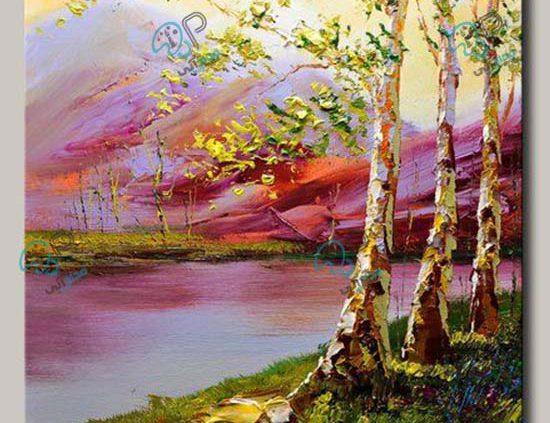 تابلو نقاشی منظره
