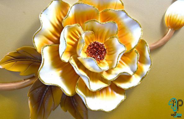 تابلو گل برجسته