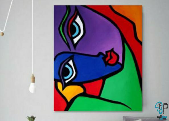 تابلو نقاشی کوبیسم