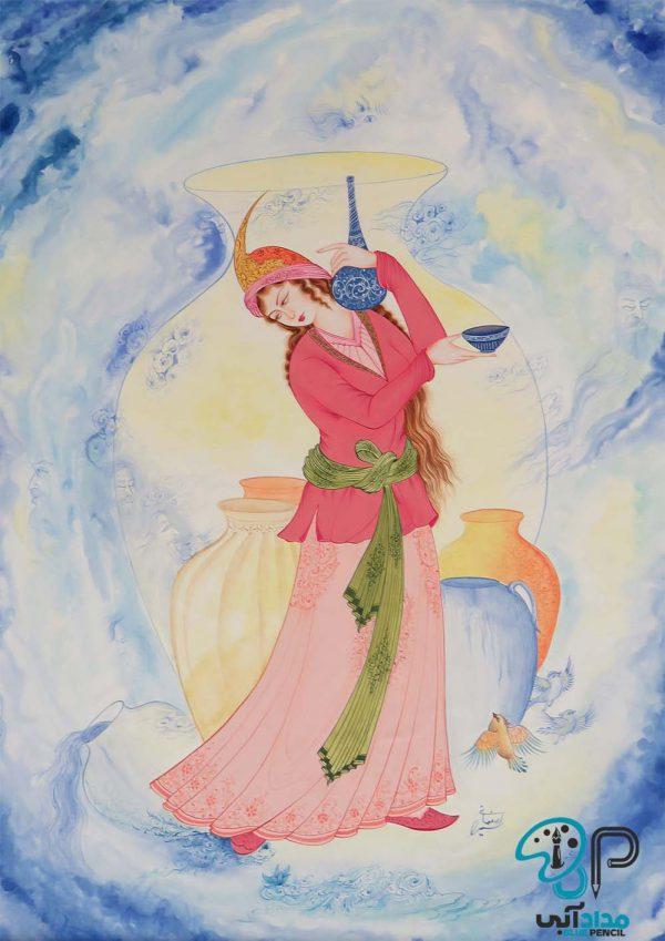 تابلو نقاشی مینیاتور