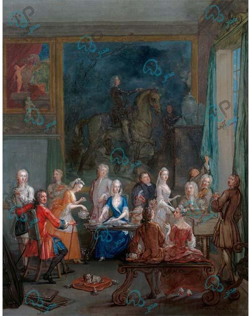 تابلو نقاشی رنگ روغن مجلسی