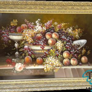 تابلو رنگ روغن میوه