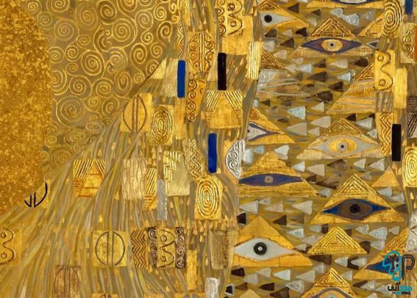 تابلو نقاشی ورق طلا