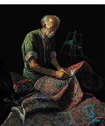تابلو نقاشی جیر