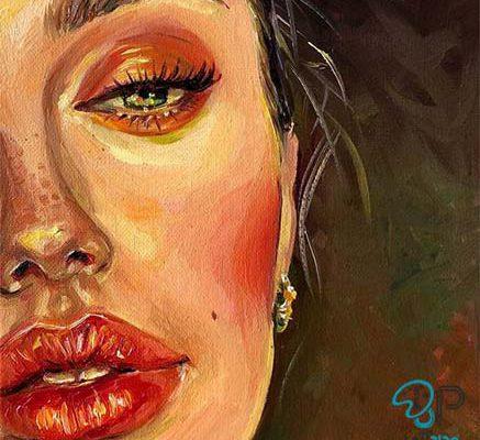 تابلو نقاشی پرتره