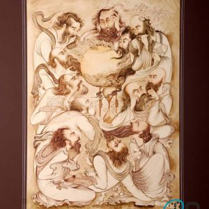 تابلو نقاشی مینیانور