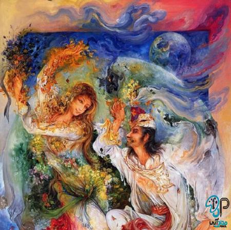 تابلو نقاشی مینیاتوری
