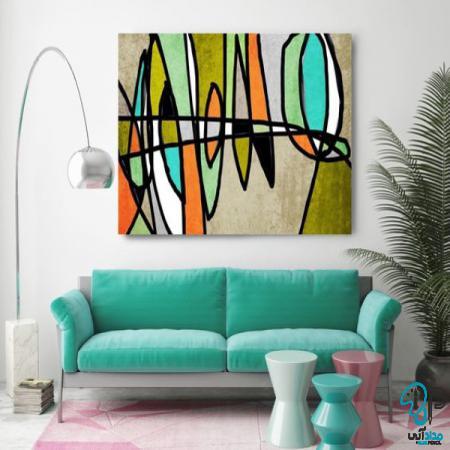 تابلو نقاشی مدرن فانتزی