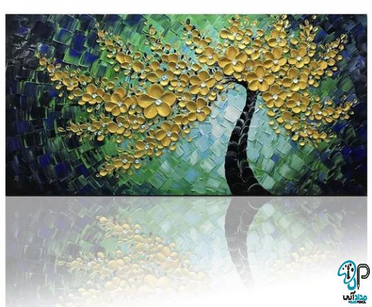 تابلو نقاشی اکریلیک برجسته