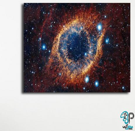 تابلو نقاشی کهکشان