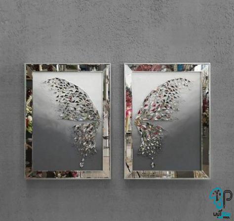 تابلو آینه ای پروانه